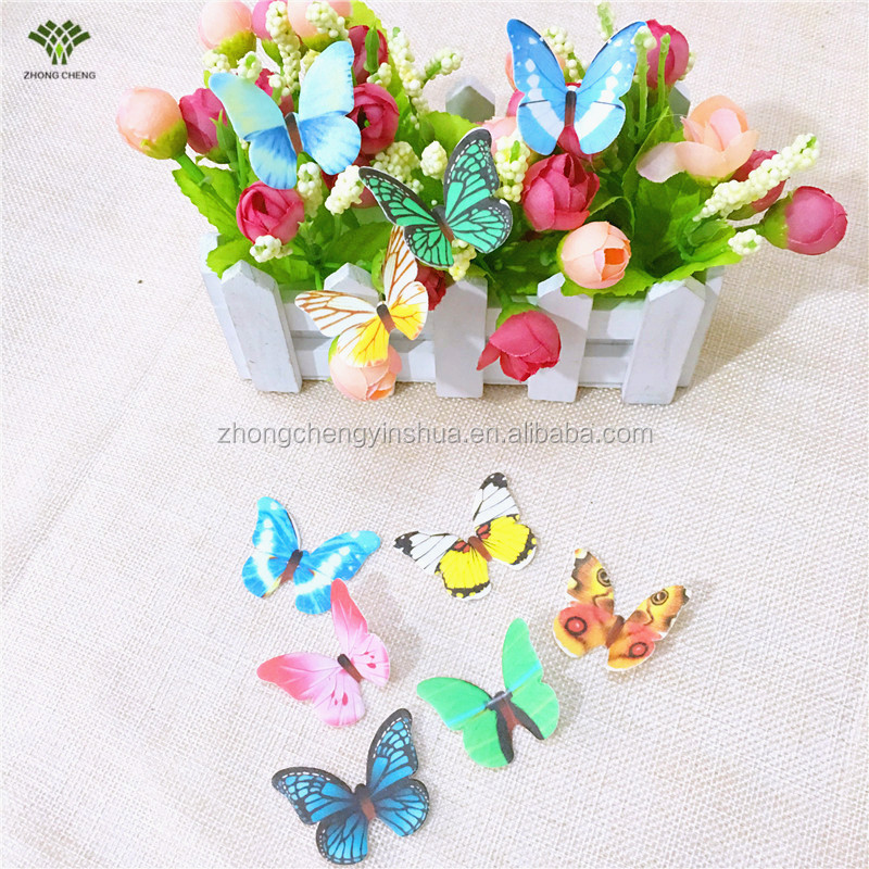 Edible Cake Topper Edible Cake Decoration Wafer Paper Rice Paper Butterfly