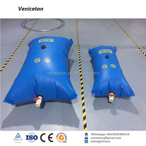 Veniceton pvc pillow collapsible water tank Fabric coated PVC Cube plastic Water storage Tank
