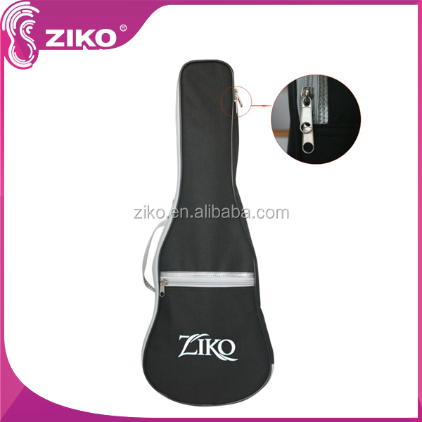 foldable stuffing nylon ukulele guitar gig bag with embroidery logo
