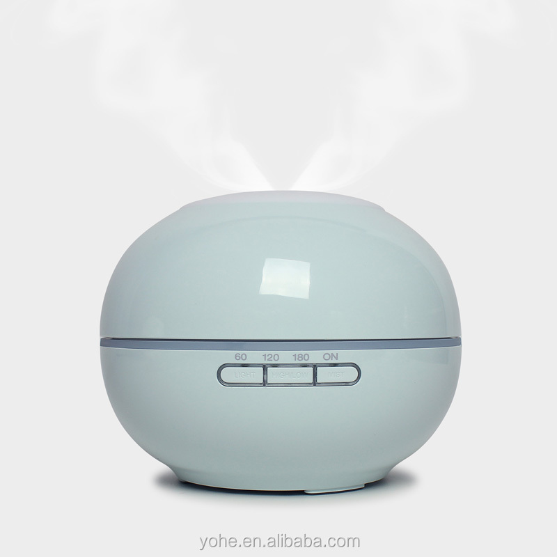 200ml portable alibaba china ultrasonic round aroma perfume humidifier