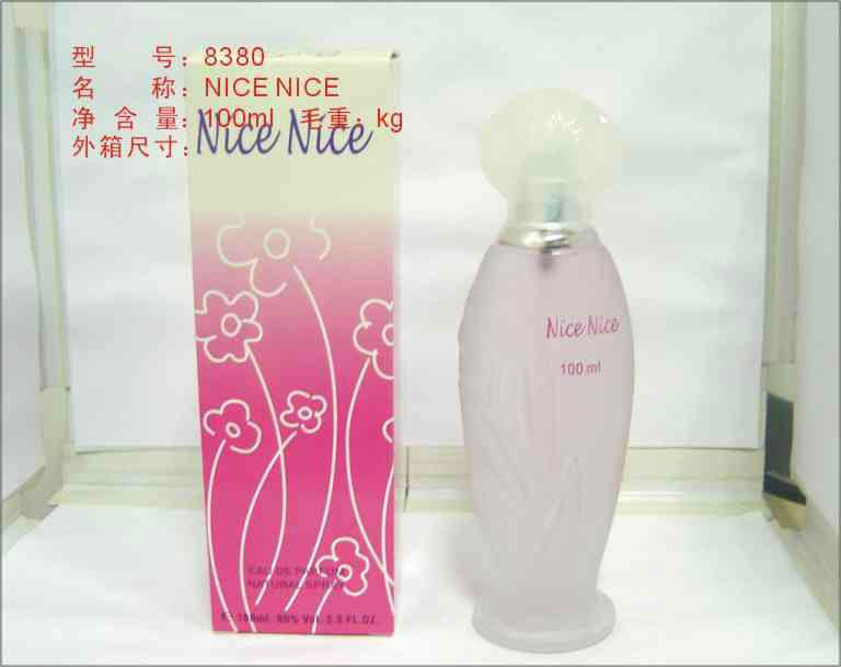Wholesale Pink Parfum Women 100ml Glass Perfume