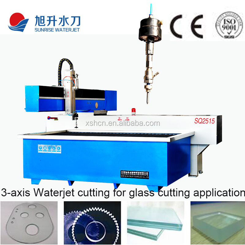 Top quality carbon steel waterjet cutting machinery