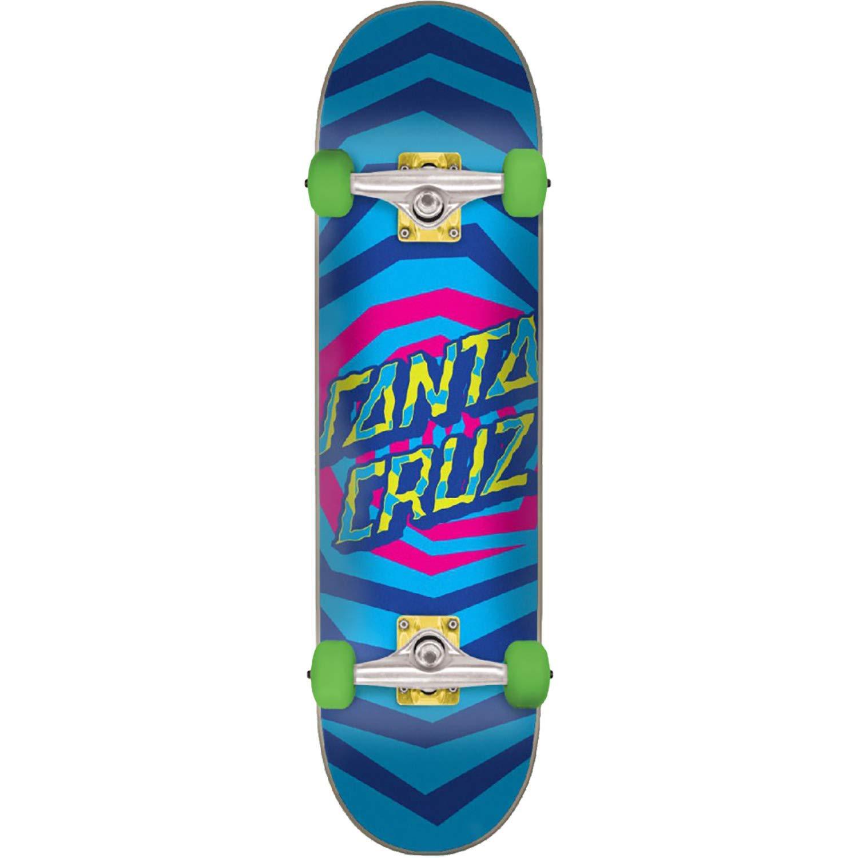 """Santa Cruz Skateboards Illusion Dot Complete Skateboard - 7.8"""" x 31.7"""""""