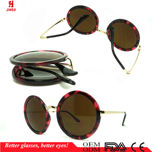 China Foldable Round Folding Custom SunglassesFashion Sunglasses PkOXwuiTlZ