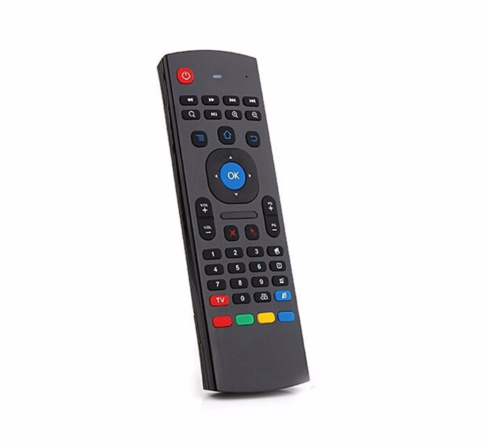 Mini Keyboard 2.4g air mouse untuk android tv box Remote Control bluetooth 2.4 GHz mx3 MX3 remote