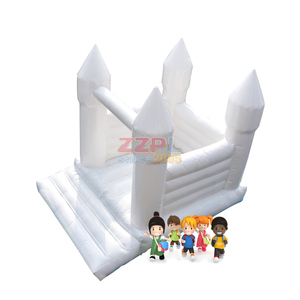 ZZPL white Castle inflatable jumping houses/castles,bouncy houses/castles For sale