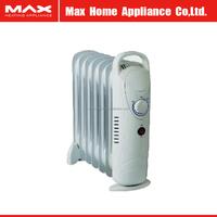 7 fin elements 1500W mini oil radiator electric