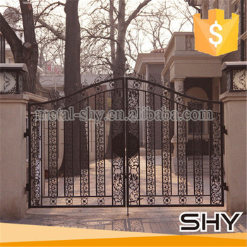 Cheap Aluminum Garden Gates Indoor Iron Gate