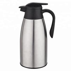 2L stainless steel flask bottle tea coffee pot thermos with handle