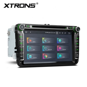 XTRONS Android 9.0 car dvd player for Volkswagen jetta passat b6 polo tiguan , double din car stereo