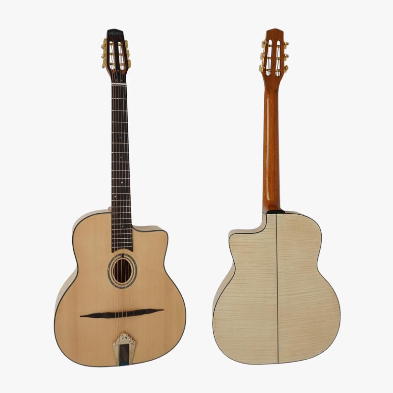 Alibaba.com / Aiersi brand handmade Django Petit Bouche Acoustic Gypsy jazz guitar