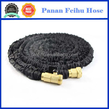 new brass fitting expandable garden hose pipe magic flexible water hose retractable garden hose - Flexible Garden Hose