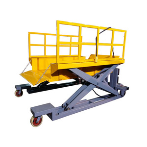 China Mobile Scissor Lift Table Electric Hydraulic Lift Platform