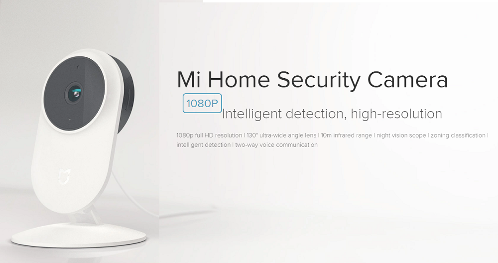 Original Xiaomi Mi Home Security Camera Basic Mijia Smart IP Camera 1080P  Full HD Video FOV 130 Two-Way Voice Communication, View Mi Home Security