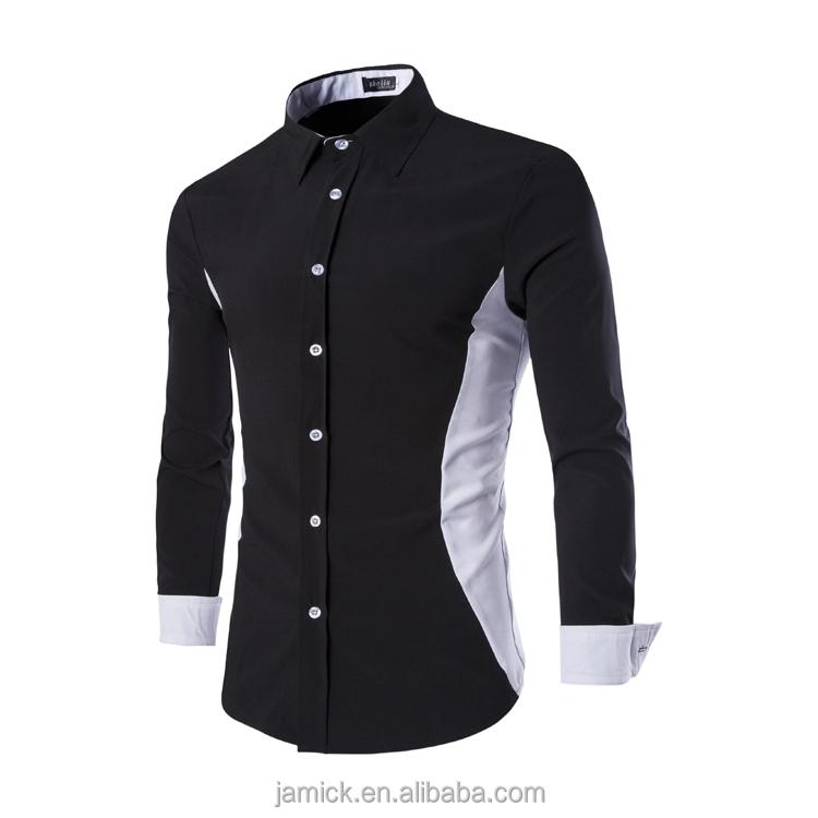 Wholesale MOON BUNNY New 2016 Men's Shirts men Casual slim fit ...