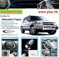 car alarm security system can bus car alarm remote control start for Mitsubishi Pajero smart push button