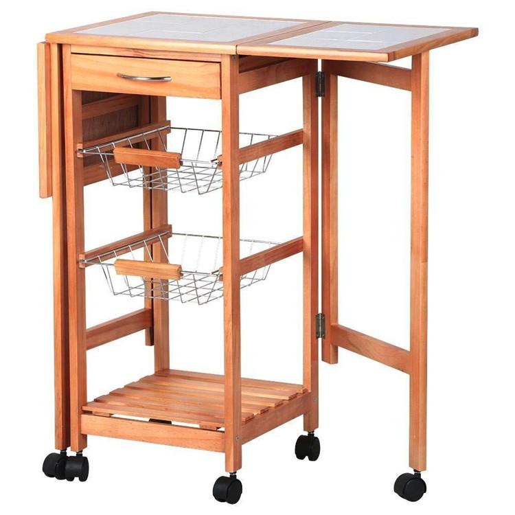 High Quality kitchen trolley baskets design 9