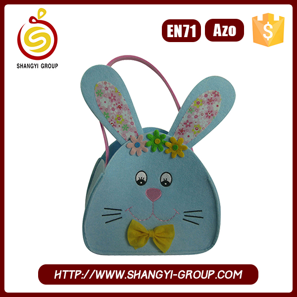 Novelty Easter Gift Bag with Long Ear Rabbit