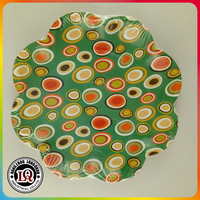 Disposable Flower Shaped Paper Plate