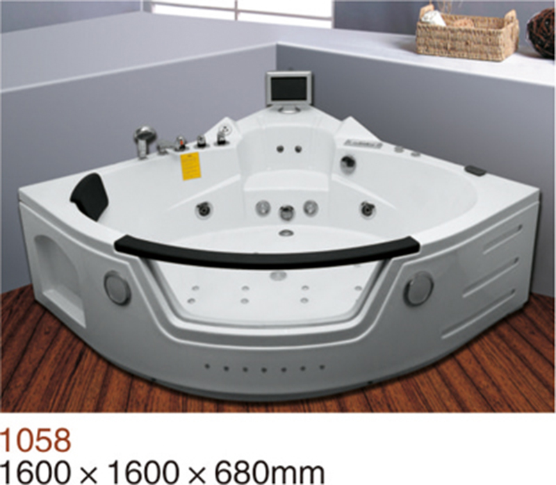 Ce Luxury Whirlpool Hydro Massage Bathtub Price With Tv Option - Buy ...