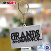 Promotional products pvc cute style soft rubber 3d pvc keychain