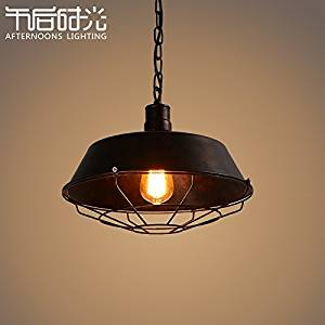 Get Quotations · Winson Stylish Design Elegant Vintage Style Pendant  Ceiling Light Shade Stylish Pendant LightsAmerican Retro Iron Chandeliers