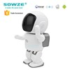 360 Degree Rotating Surveillance Robot Wireless Cctv Ip Camera
