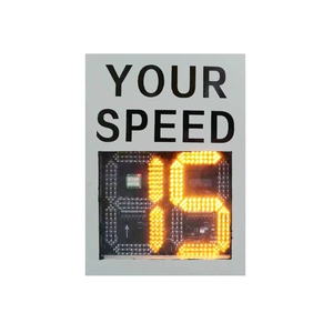 Digital Flashing Slow Down Road Speed Limited Sign Dynamic Radar Speed Display LED Signs