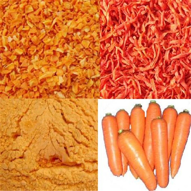 Supply Grade A Dried Carrot Cubes From Chinese Market