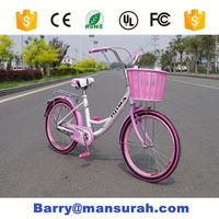"New 2016 Hot 20"" City Mini Bike for Student Girl Mini Bicycle 7 Speeds Bicicletas for Teenager bicycle children bicycle"