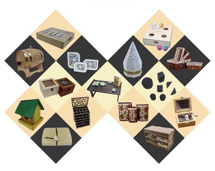 Holz Vintage Zigarre Box Leer Einzelnen