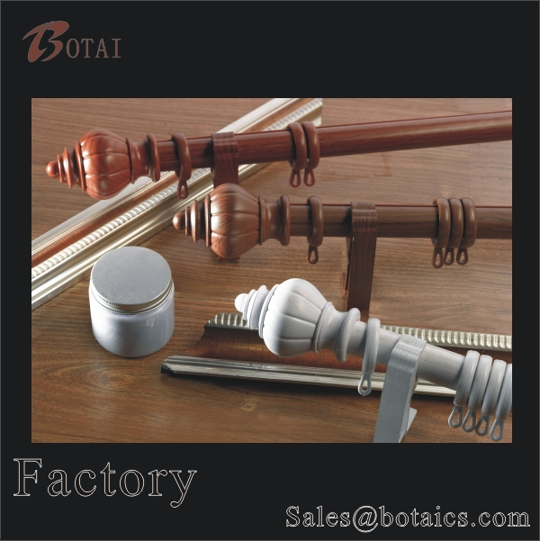 steel window decorative curtain rods