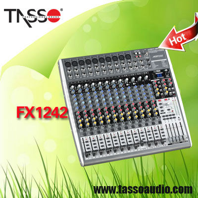 China professional sound behringer mixer console manufacturer