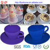 Set Of 4pcs Pleated Silicone Cookie Baking Tools Cookie Cup