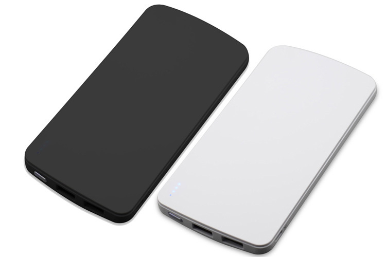 HOT Selling, White Color 5000mAh Portable USB Power Bank for iPhone 5
