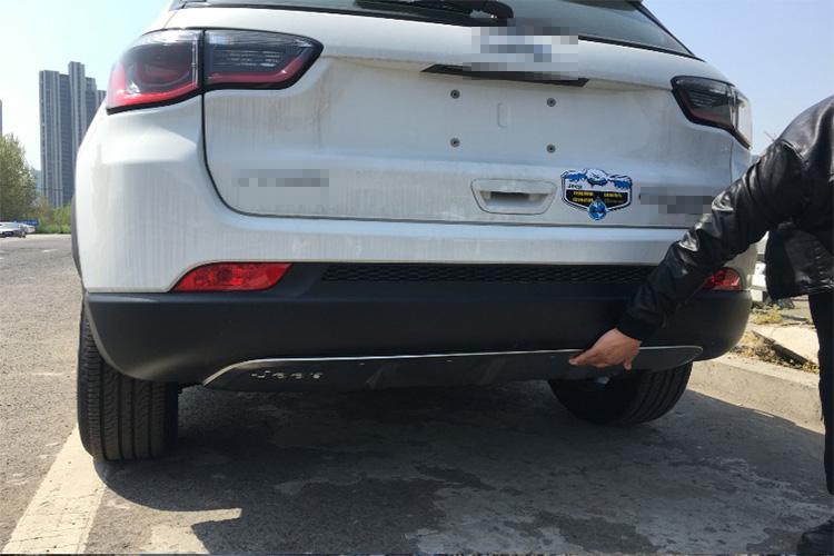 Jeep Compass Car Boot Liner and Bumper Flap