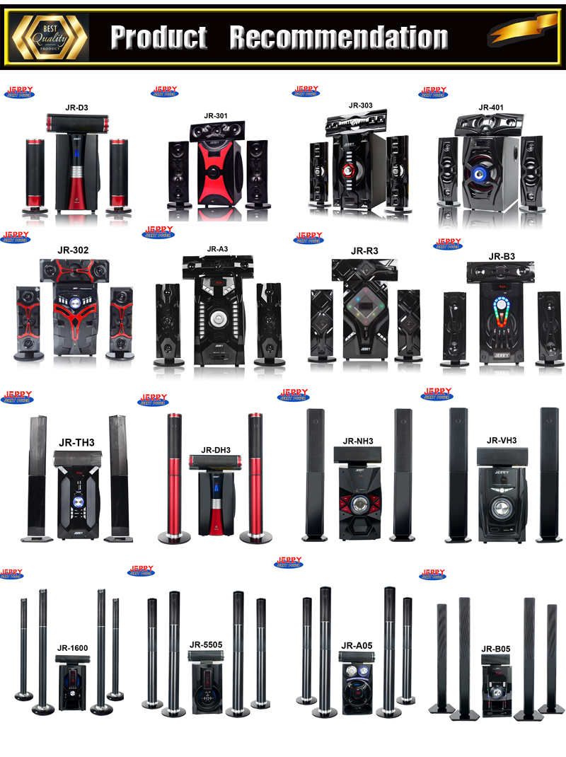 Harga Pabrik Home Theater System Cinema Audio Sound System D50 dengan FM USB Funtion Bt
