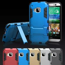 Hot Selling Iron-Bear Rugged Hybrid Stand Shockproof Case Cover For HTC One M9
