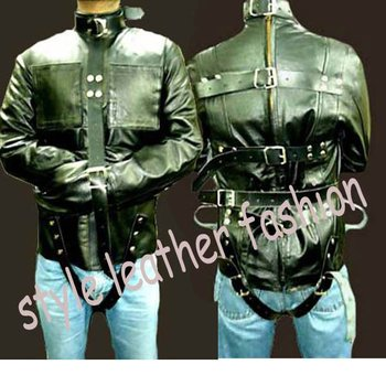Leather Straight Jacket - Buy Designer Straight Jacket Product on ...