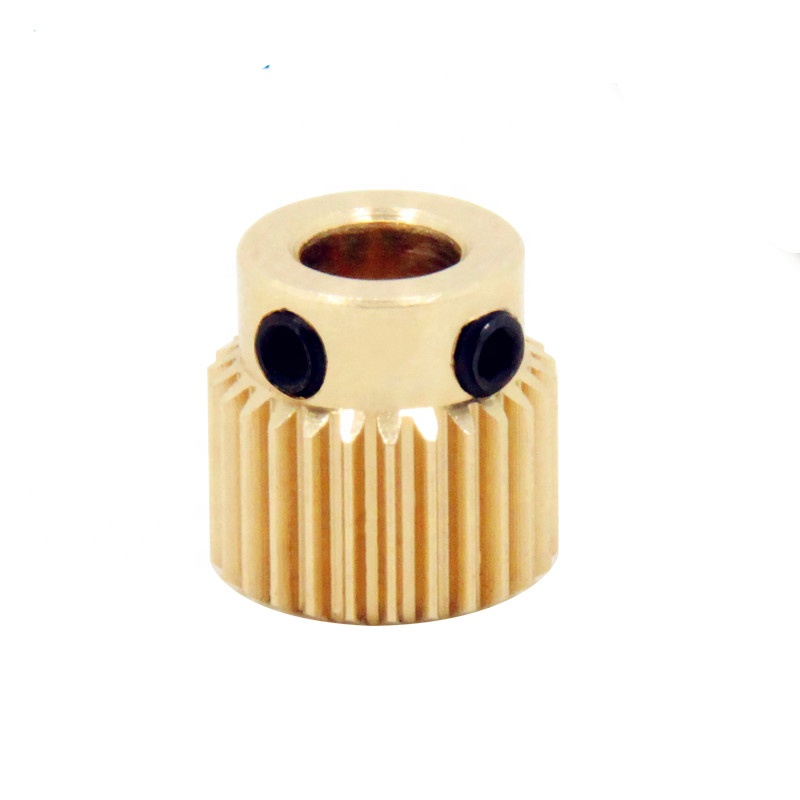 3D printer 26 tooth brass wire feed dedicated extrusion wheel <strong>gear</strong>