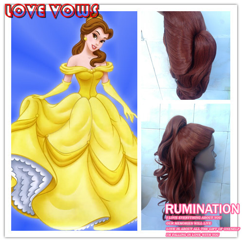 Popular Princess Belle Wig Buy Cheap Princess Belle Wig