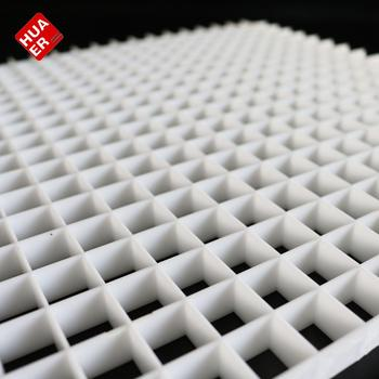 Plastic Eggcrate Air Grilles Ceiling With Filter Net