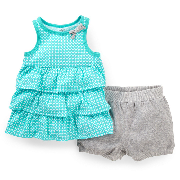 5d43e5ba1 Buy Carters baby girls clothes set infant baby girl clothes dress ...