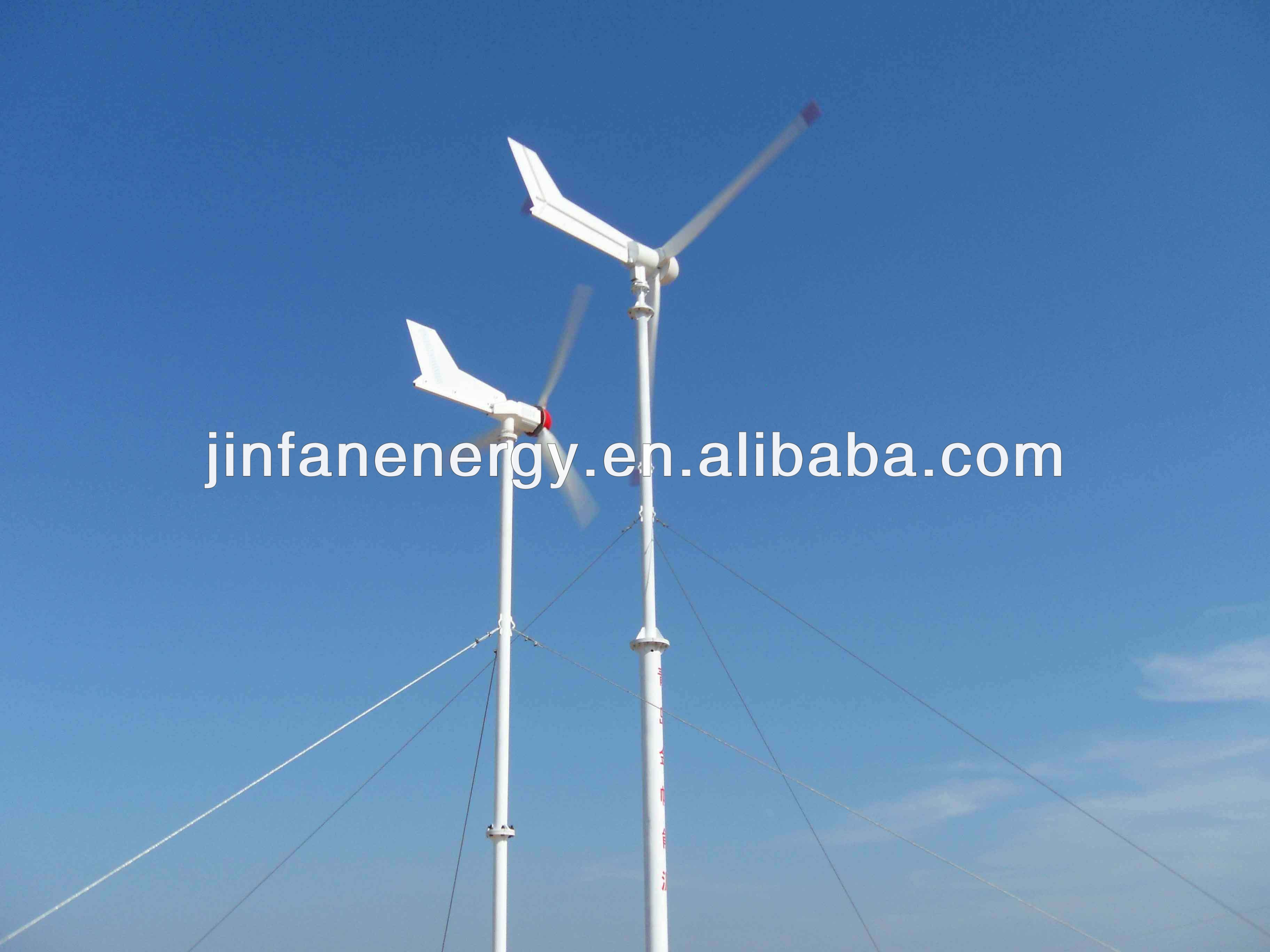 5kw 220V Permanent Magnetic Wind turbines system mill power