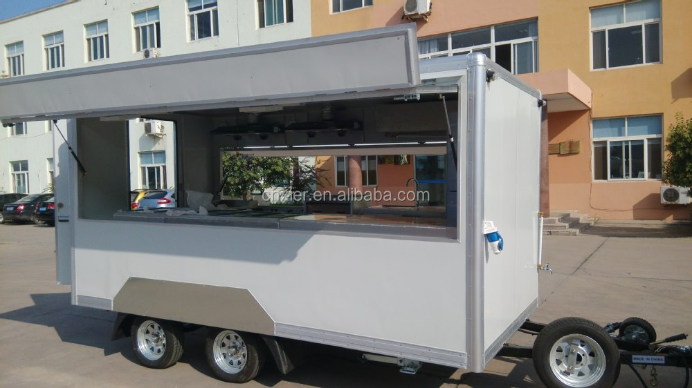 mobile food trailer fast food sale trailer new design