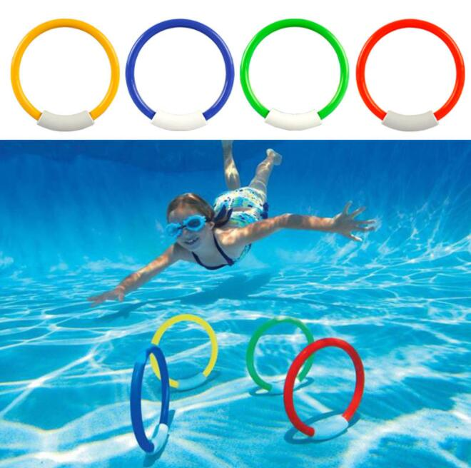 Diving Toy Set Summer Fun Underwater Sinking Swimming Pool Toy for Kids