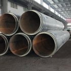 hot selling steam insulation steel pipe stainless steel tube with glass wool insulation material in the 3pe coated steel sleeve