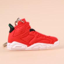 Брелок для ключей New Exotic Mini Jordan 6, ретро брелок для ключей для мужчин и женщин, детский подарок, брелок для баскетбола, кроссовок, держатель дл...(Китай)