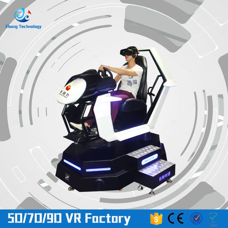 Factory Price Vr Equipment Race Simulator Driving Simulator Electronic Kid Car Racing Game