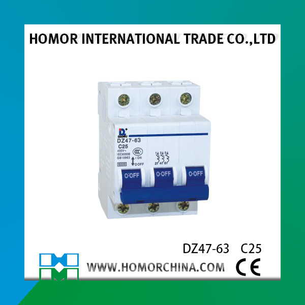 low voltage vacuum circuit breaker